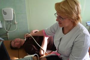 УЗИ щитовидной железы проводит к.м.н., врач-эндокринолог Дадашина Ю.В.